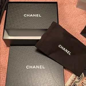 Original Chanel shoe boxes